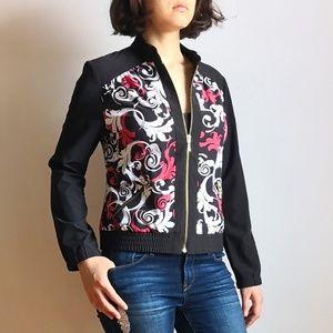Chico's Zenergy unique pattern jacket windbreaker